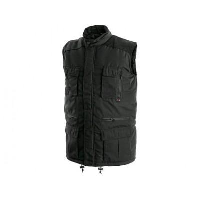 Pánska zimná vesta OHIO čierna