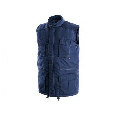 Pánska zimná vesta OHIO modrá