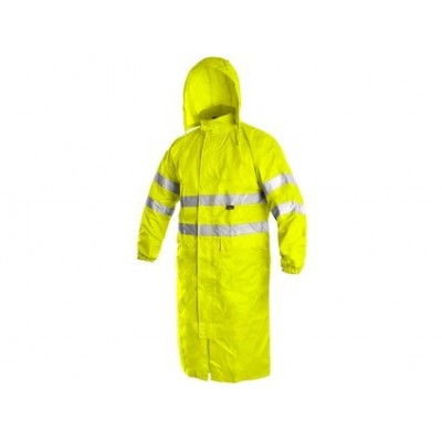 Plášť BATH výstražný žltý