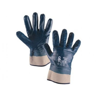 Povrstvené rukavice PELA modré
