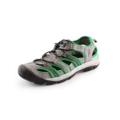 Sandále SAHARA šedo-zelené