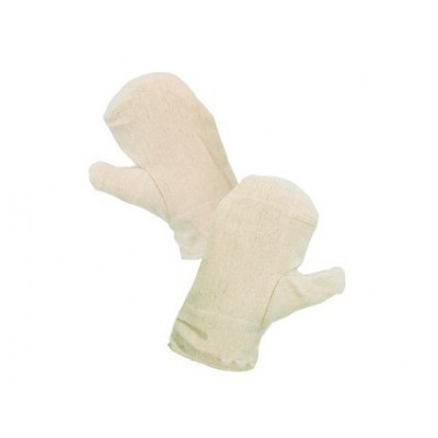 Textílne rukavice DOLI biele