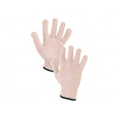 Textílne rukavice FLASH biele