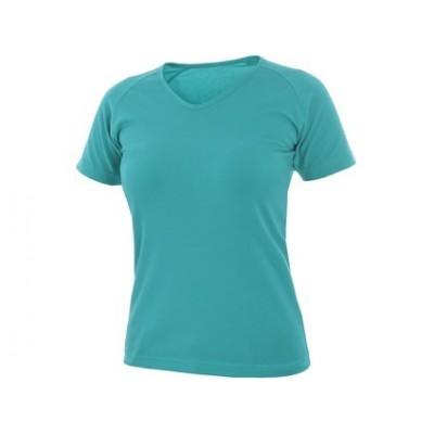 Tričko ELLA dámske tyrkysové
